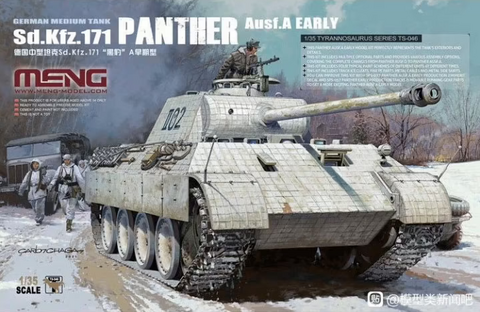 ENNAKKOTILAUS Panther Ausf. A Early, 1:35