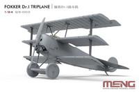 Fokker Dr.I Triplane, 1:24 (pidemmällä toimitusajalla)
