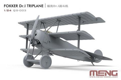 ENNAKKOTILAUS Fokker Dr.I Triplane, 1:24