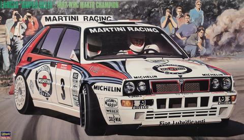 Lancia Super Delta 1992 WRC Makes Champion, 1:24 (sis. extraa)