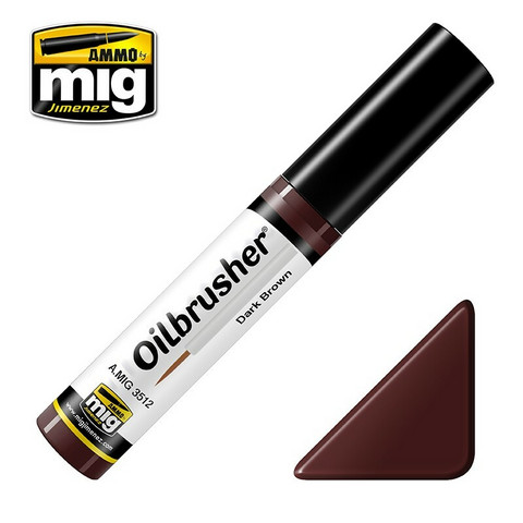 Oilbrusher Dark Brown 10ml