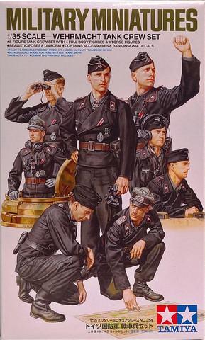 Wehrmacht Tank Crew Set, 1:35 (pidemmällä toimitusajalla)