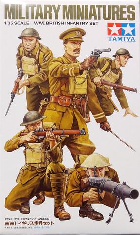 WWI British Infantry Set, 1:35