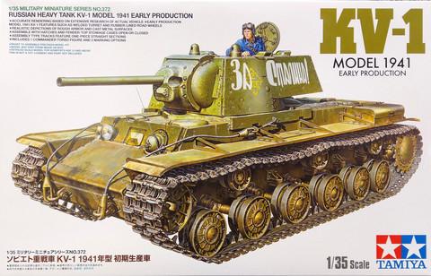 Russian Heavy Tank KV-1, 1:35 (pidemmällä toimitusajalla)