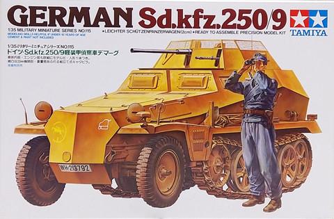 German Sd.Kfz.250/9, 1:35