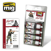 German Field Grey Uniforms Set (4x17ml)