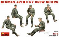 German Artillery Crew Drivers, 1:35