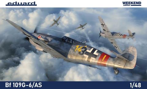 Bf 109G-6/AS, 1:48 (pidemmällä toimitusajalla)