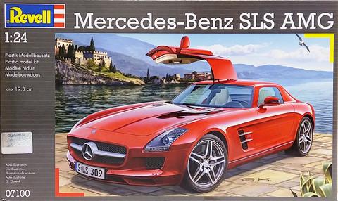 Mercedes-Benz SLS AMG, 1:24