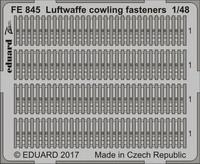 Luftwaffe Cowling Fasteners, 1:48