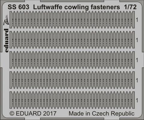 Luftwaffe Cowling Fasteners, 1:72