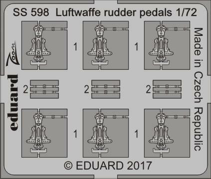 Luftwaffe Rudder Pedals, 1:72