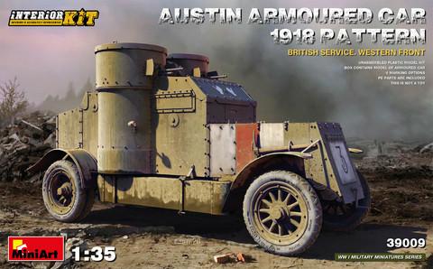 Austin Armored Car 1918 Pattern, 1:35