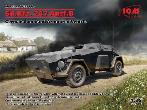 Sd.Kfz. 247 Ausf.B, 1:35