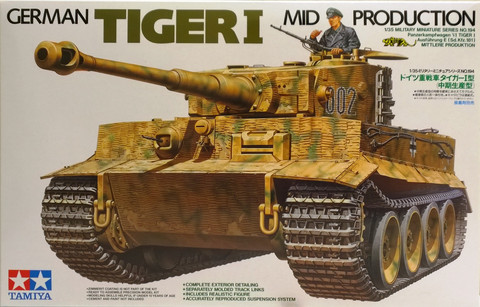 German Tiger I Mid Production, 1:35