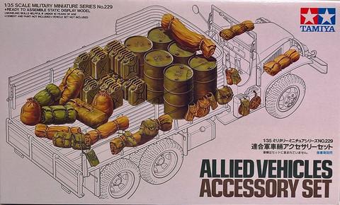 Allied Vehicles Accessory Set, 1:35 (pidemmällä toimitusajalla)