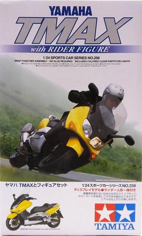 Yamaha TMAX with Rider Figure, 1:24