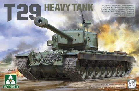 ENNAKKOTILAUS T29 Heavy Tank, 1:35