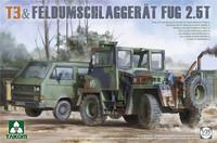 ENNAKKOTILAUS T3 & Feldumschlaggerät FUG 2.5t, 1:35