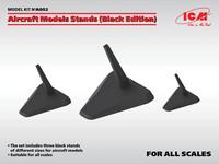 Aircraft Model Stands (Black Edition), eri kokoja (Pidemmällä Toimitusajalla)