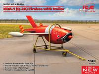 KDA-1 (Q-2A) Firebee with trailer, 1:48 (Pidemmällä toimitusajalla)