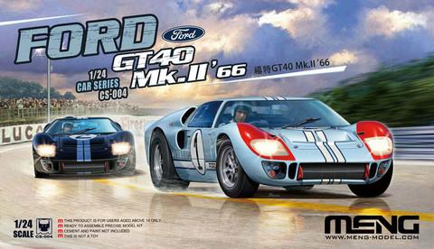 ENNAKKOTILAUS Ford GT 40 Mk. II '66, 1:24
