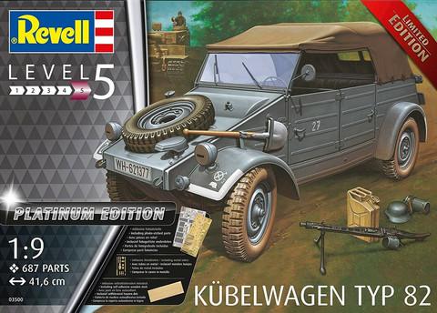 Kübelwagen Typ 82, 1:9 (Pidemmällä Toimitusajalla)