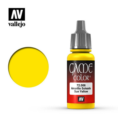 Sun Yellow, Game Color 17ml