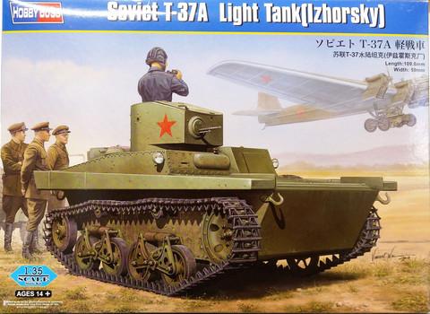 Soviet T-37A Light Tank (Izhorsky), 1:35