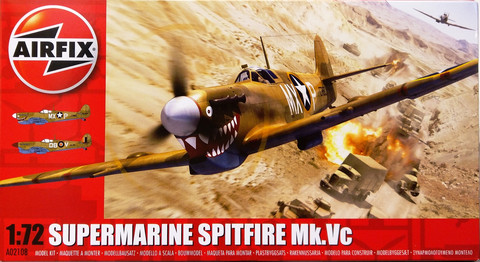 Supermarine Spitfire Mk.Vc, 1:72