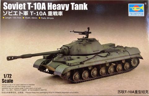 Soviet T-10A Heavy Tank, 1:72