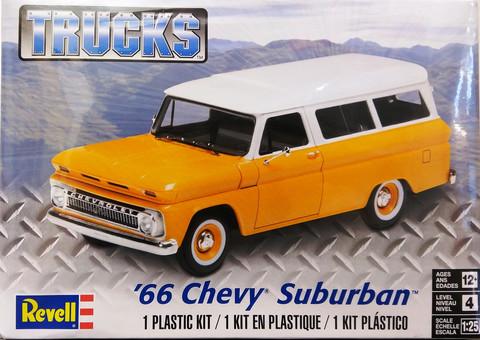 Chevrolet Suburban '66, 1:25