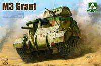 British medium tank M3 Grant, 1:35