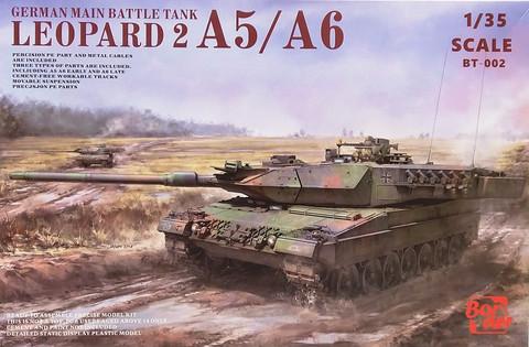 Leopard 2 A5/A6, 1:35 (pidemmällä toimitusajalla)