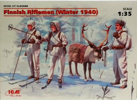 Finnish Riflemen (Winter 1940), 1:35