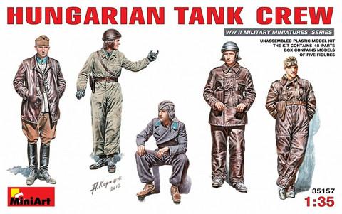 Hungarian Tank Crew, 1:35 (pidemmällä toimitusajalla)