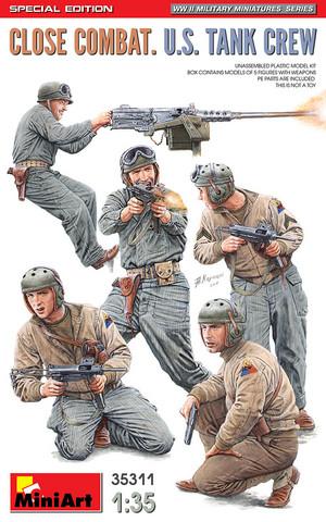 Close Combat, U.S. Tank Crew, 1:35