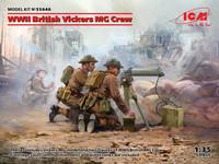 WWII British Vickers MG Crew, 1:35