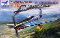 North American F-51D Mustang, Korean War, 1:48