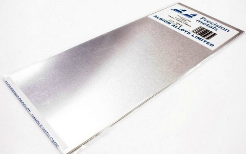 Alumiinilevy 0,5mm x 100mm x 250mm (2kpl)