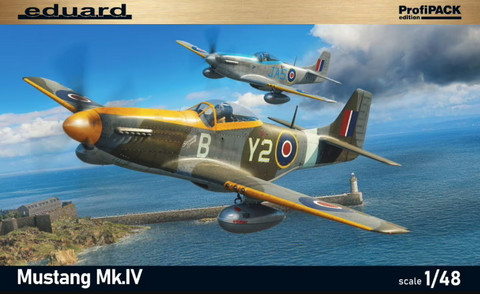 Mustang Mk. IV ProfiPACK, 1:48