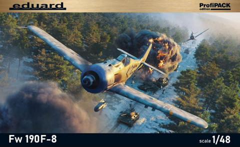 Fw 190 F-8 ProfiPACK, 1:48 (pidemmällä toimitusajalla)