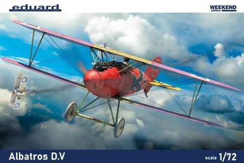 Albatross D.V, Weekend Edition, 1:72 (pidemmällä toimitusajalla)