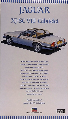 Jaguar XJ-SC V12, 1:24