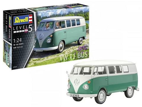 VW T1 Bus, 1:24 (Pidemmällä Toimitusajalla)