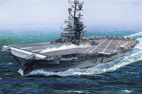 USS Intrepid CV-11, 1:350 (Pidemmällä Toimitusajalla)
