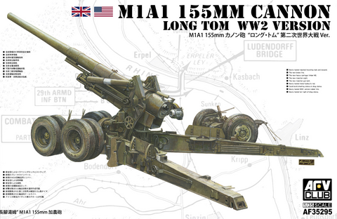 M1A1 155mm Cannon, Long Tom WW2 Version, 1:35 (Pidemmällä Toimitusajalla)