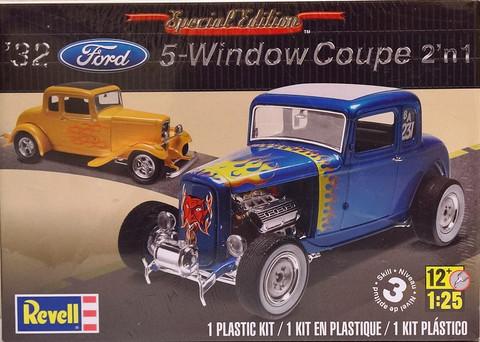 Ford '32 5-Window Coupe 2'n1, 1:25 (pidemmällä toimitusajalla)