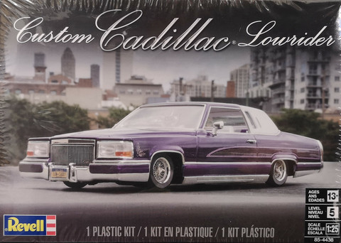 Cadillac Lowrider Custom, 1:25