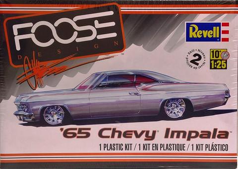 Chevrolet Impala '65 FOOSE, 1:25 (pidemmällä toimitusajalla)